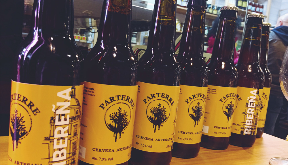Cervezas artesanales Ribereña